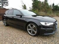 2013 63 Audi A6 Avant 3.0 TDI 245ps S Tronic QUATTRO Black Edition ** 1 OWNER **
