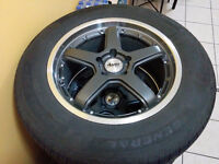***NEW 2 MONTH OLD RIMS N TIRES***