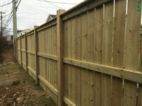 Need a fence built or posts set?