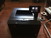 Hp Laser Jet Pro 400 M401dn, Excellent laser B\W printer with touch screen. £60