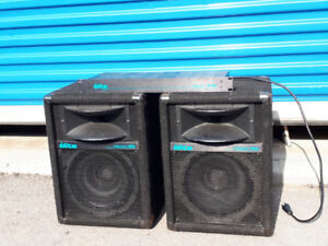 Yorkville micron 160 pa speakers and micron 160  processor