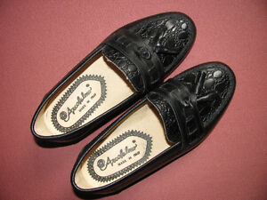 Brand New Leather Shoes for Boys - Black