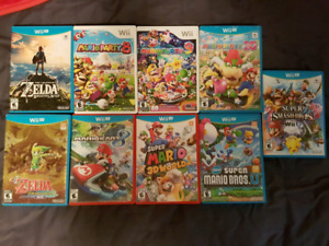 More Wii U Games for Sale!!!