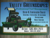 Valley Greenscapes.  Professional Lawn Care. Free Quotes
