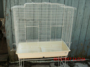 EXTRA LARGE BIRD CAGE WITH STAND