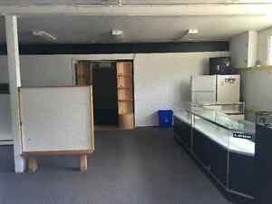 Commercial space available Lease