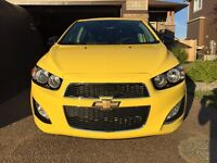 2015 Chevy Sonic RS Turbo Sport