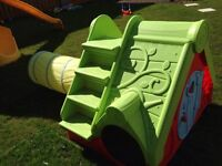 Outdoor activity play slide SOLD