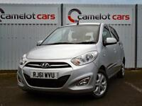 2011 (61) HYUNDAI I10 1.2 ACTIVE, £20 ROAD TAX, LOW MILEAGE, 12M MOT 6M WARRANTY