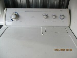 WHIRLPOOL ELCTRIC DRERY VERY CLEAN