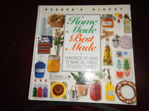Reader's Digest HOME MADE BEST MADE Hard Cover Book