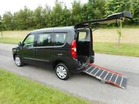 2012 Fiat Doblo 1.6 Diesel AUTOMATIC 4 Seats WHEELCHAIR DISABLED ACCESSIBLE WAV