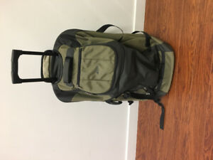 Mountain Equipment Coop Rolling Duffle/back pack/hockey bag