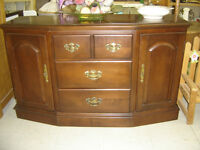 new arrival--beautiful ROXTON MAPLE sideboard/console