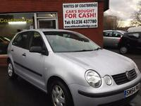 VOLKSWAGEN POLO 1.2 2004MY TWIST - FANTASTIC SERVICE HISTORY