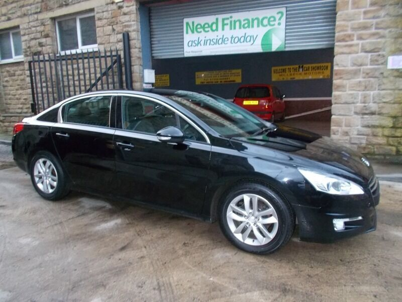 peugeot 508 1 6 hdi 115 active black 2013 in batley west yorkshire gumtree. Black Bedroom Furniture Sets. Home Design Ideas
