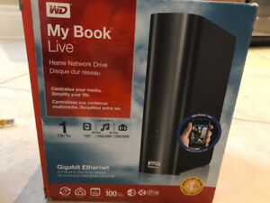 WD My Book Live 1TB Home Network Drive