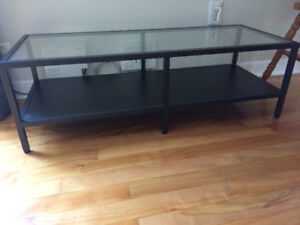 Ikea glass table
