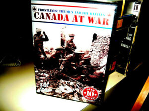 War DVDs  Canadian & USA sets & singles P/U only in Smithville
