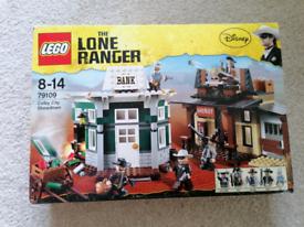 Lego lone ranger showdown
