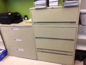 Lateral File Cabinet With 4 Drawers