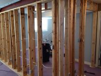 Handyman specializes in small reno's