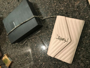 YSL purse with chain