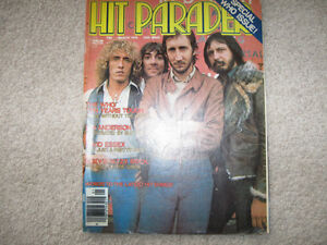 Hit Parader-1976 issue with The Who cover