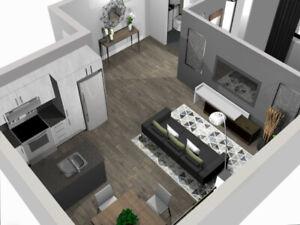 Superbes appartements entièrement rénovés pour le 1er Juillet