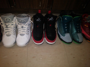 Nike shoes and Air Jordans size 10 and 10.5