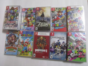Nintendo Switch Games $35 to $70
