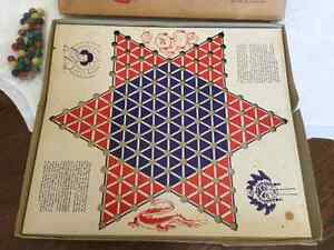 Chinese Checkers game and clay marbles Cambridge Kitchener Area image 2