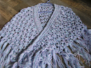 ladies knitted shawl,  Knitted Mitts, Scarves