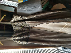 Plus size evening gown.Great condition.Only worn once