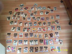 Lot de 169 cartes de hockey des années 1950-1960-1970 Vintage