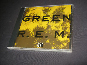 R.E.M. GREEN CD brand new in pkg