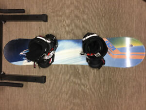 Burton Smowboard with burton binding and burton boots