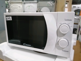 ➡️➡️SALE⬅️⬅️ GRADED WHITE CANDY 20L 700W MICROWAVE ONLY £45