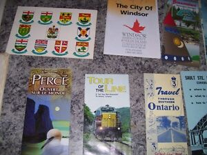 Vintage Ont. Road Maps, Brochures, Etc. PRICE REDUCED Cornwall Ontario image 5