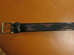 Brand new leather belt