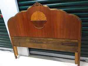 Antique double head board