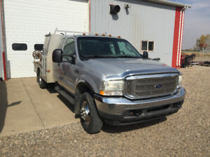 2003 Ford F-350 Truck with Deck and Welder. Make an Offer!