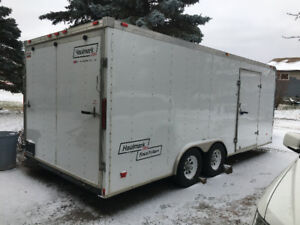 2009 hallmark enclosed car hauler