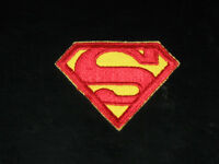 Nice SUPERMAN S Chest Logo Embroidered Iron On Patch