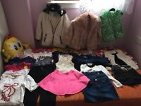 Bundle clothes age 5-6 for girls and bags