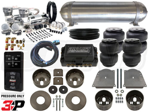 Complete Air Ride Suspension Kit 1964 - 1972 Chevelle Level 4 W/ Air Lift 3p