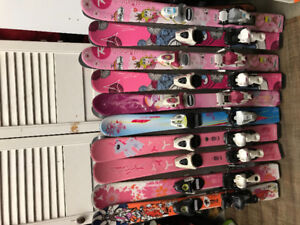Ski alpin junior filles 80/90/100/110/120/130/140cm