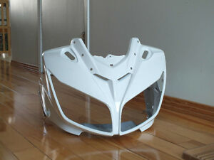 Fairing blanc Yamaha FZ1 2006-2014