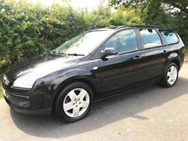 FORD FOCUS ESTATE AUTOMATIC ONLY 76,000 GENUINE MILES IN BLACK 57 REG AIR CON