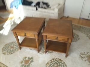 Matching End Tables with Drawer